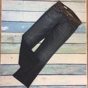 ZAC POSEN 7FAM Boot Cut Jeans 26